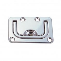 Perko Flush Lifting Handle - Chrome Plated Zinc - 3- x 2-1-4-