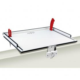 Magma Econo Mate Bait Filet Table - 20- - White-Black
