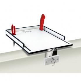 Magma Econo Mate Bait Filet Table - 12- - White-Black