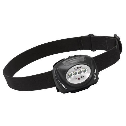 Princeton Tec QUAD Industrial 78 Lumen Headlamp - Black
