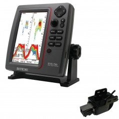 SI-TEX SVS-760 Dual Frequency Sounder 600W Kit w-Transom Mount Triducer