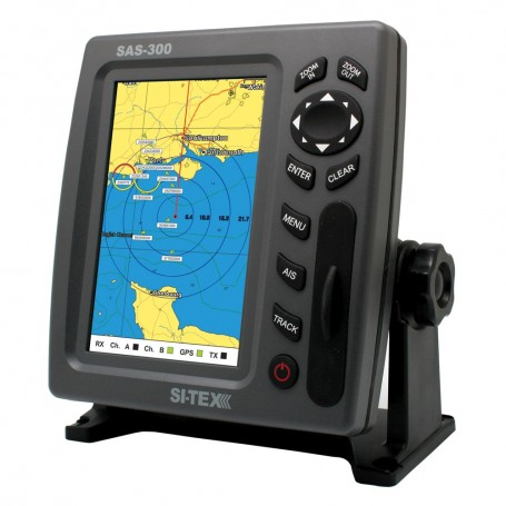 SI-TEX SAS-300 AIS Class B Transceiver - Display Only f-Use w-Existing AIS