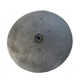 Tecnoseal R4 Rudder Anode - Zinc - 5- Diameter x 5-8- Thickness