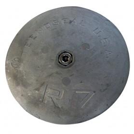 Tecnoseal R7 Rudder Anode - Zinc - 6-1-2- Diameter