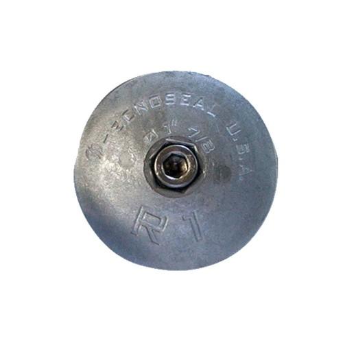 Tecnoseal R1AL Rudder Anode - Aluminum - 1-7-8- Diameter
