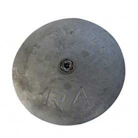 Tecnoseal R4AL Rudder Anode - Aluminum - 5- x 5-8-