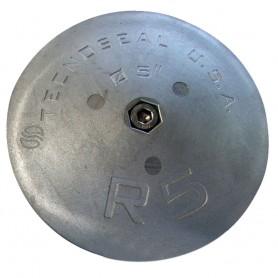 Tecnoseal R5AL Rudder Anode - Aluminum - 5- x 7-8-