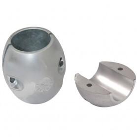 Tecnoseal X3 Shaft Anode - Zinc - 1- Shaft Diameter