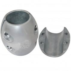 Tecnoseal X20 Shaft Anode - Zinc - 5-1-2- Shaft Diameter