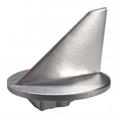 Tecnoseal Trim Tab Anode - Zinc - Short - Mercury 50HP