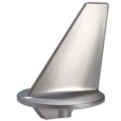 Tecnoseal Trim Tab Anode - Zinc - Long - Mercruiser 80-140HP