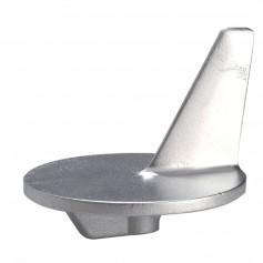 Tecnoseal Trim Tab Anode - Zinc - f-Large Propeller - Mercury 50-140HP