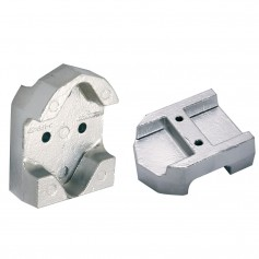 Tecnoseal Gimbal Block Anode - Aluminum