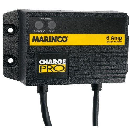 Marinco 6A On-Board Battery Charger - 12V - 1 Bank