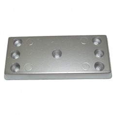 Tecnoseal TEC-30AL Hull Plate Anode - Aluminum
