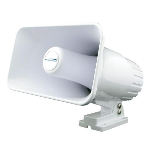 Speco 4- x 6- Weatherproof PA Speaker Horn - White