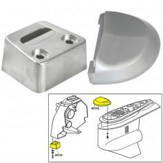 Tecnoseal Anode Kit w-Hardware - Volvo SX - Zinc