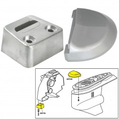 Tecnoseal Anode Kit w-Hardware - Volvo SX - Aluminum