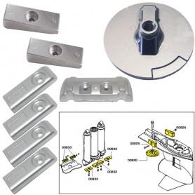 Tecnoseal Anode Kit w-Hardware - Mercury Verado 6 - Zinc
