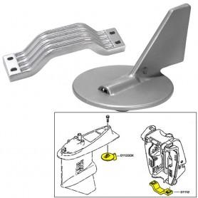 Tecnoseal Anode Kit - Yamaha 150-200HP - Aluminum