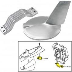 Tecnoseal Anode Kit w-Hardware - Yamaha 200-300HP Hi-Performance - Aluminum