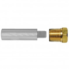 Tecnoseal E1 Pencil Zinc w-Brass Cap