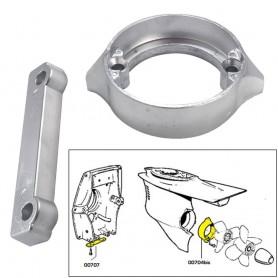 Tecnoseal Anode Kit w-Hardware - Volvo Duo-Prop 280 - Magnesium