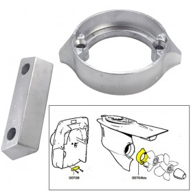 Tecnoseal Anode Kit w-Hardware - Volvo Duo-Prop 290 - Zinc