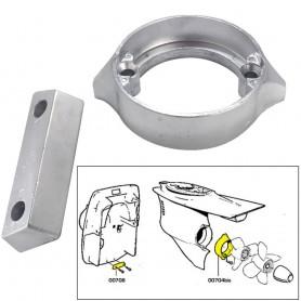 Tecnoseal Anode Kit w-Hardware - Volvo Duo-Prop 290 - Aluminum