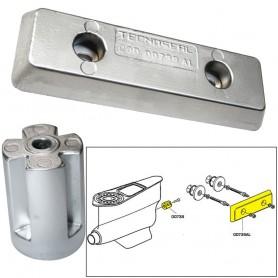 Tecnoseal Anode Kit - Volvo IPS - Zinc-Aluminum