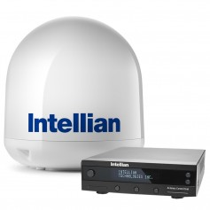 Intellian i4P Linear System w-17-7- Reflector - Universal Quad LNB