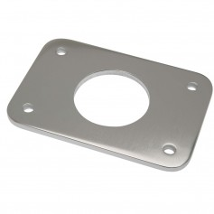 Rupp Top Gun Backing Plate w-2-4- Hole - Sold Individually- 2 Required