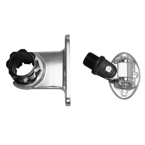 Rupp Standard Antenna Mount Support w-4-Way Base - 1-5- Collar