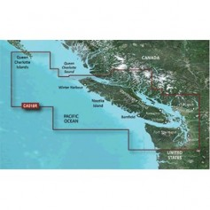 Garmin BlueChart g3 Vision HD - VCA018R - Inside - Outside Passage - microSD-SD