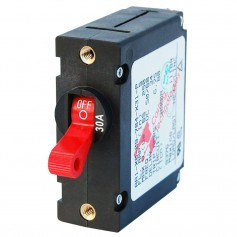 Blue Sea 7221 AC - DC Single Pole Magnetic World Circuit Breaker - 30 Amp