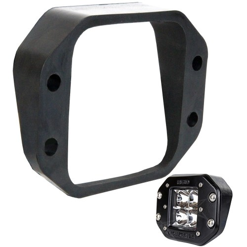 RIGID Industries D-Series Angled Flush Mount Kit - Up-Down