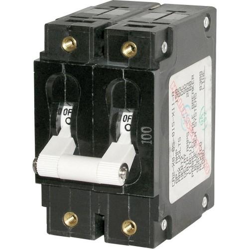 Blue Sea 7251 C-Series Double Pole Circuit Breaker - 50A