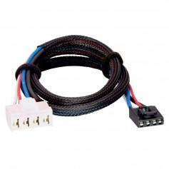 Tekonsha Brake Control Wiring Adapter - 2 Plugs - fits Dodge- RAM Chrysler