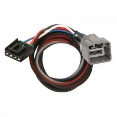 Tekonsha Brake Control Wiring Adapter - 2 Plug - fits Dodge- RAM- Jeep