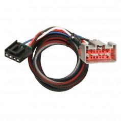 Tekonsha Brake Control Wiring Adapter - 2 Plugs - fits Ford - Lincoln