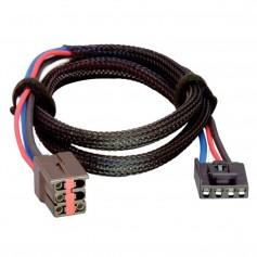 Tekonsha Brake Control Wiring Adapter - 2 Plug - fits Ford- Lincoln- Land Rover