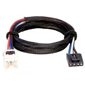 Tekonsha Brake Control Wiring Adapter - 2 Plug - fits Nissan- Infiniti