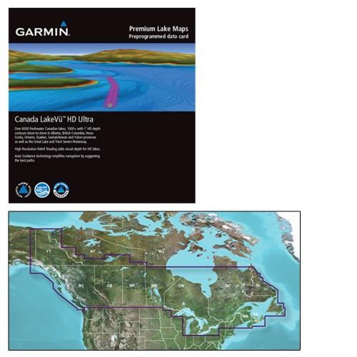 Garmin Canada LakeVu HD Ultra - microSD-SD f-GPSMAP - echoMAP Series
