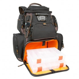 Wild River Tackle Tek Nomad XP - Lighted Backpack w- USB Charging System w-2 PT3600 Trays