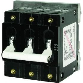 Blue Sea 7288 C-Series Triple Pole Circuit Breaker - 60A