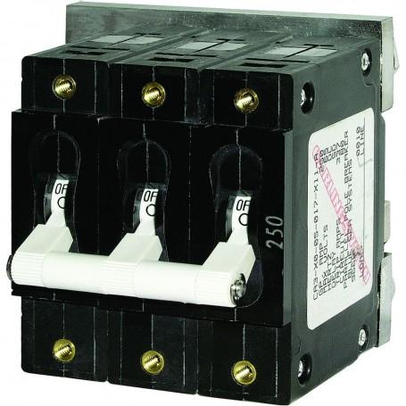 Blue Sea 7290 C-Series Triple Pole Circuit Breaker - 100A