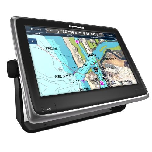 Raymarine a125 12-1- MFD w-Wi-Fi - Bluetooth - US LNC Vector Charts