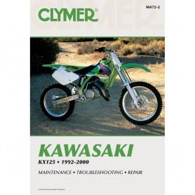Clymer Kawasaki KX125 -1992-2000-