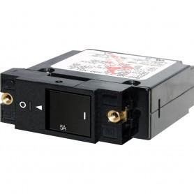 Blue Sea 7427 Single Pole Small Case 2- Slot Reset Rocker Circuit Breaker - 10 Amp