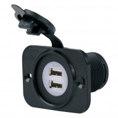 Marinco SeaLink Deluxe Dual USB Charger Receptacle